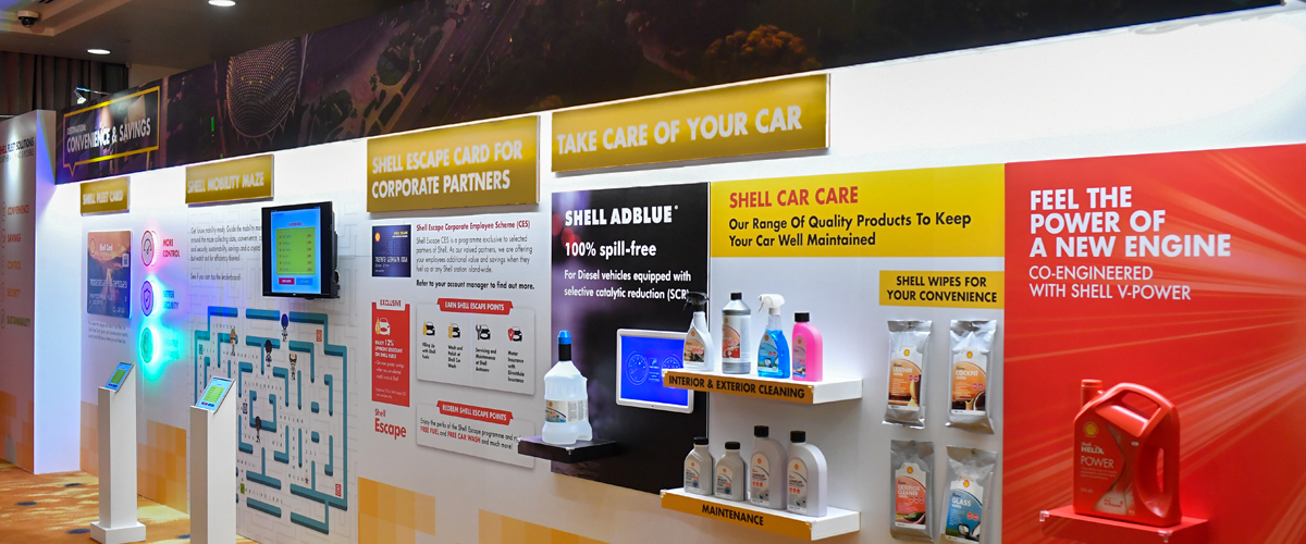 Shell Fleet Solutions Exhibition Showcase